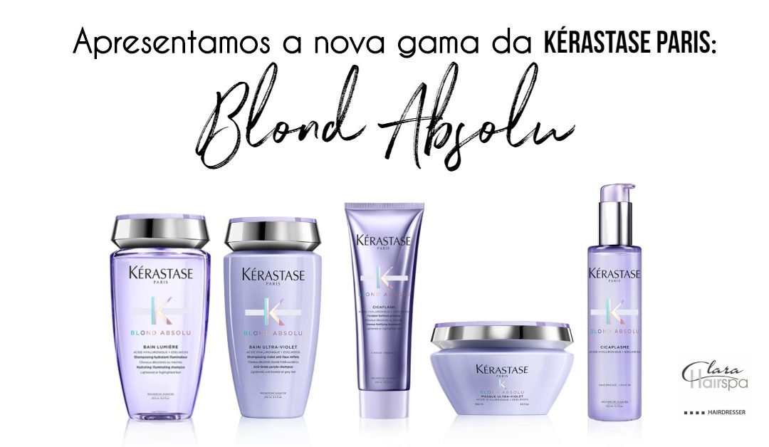 Blond Absolu a nova gama da Kérastase Paris.