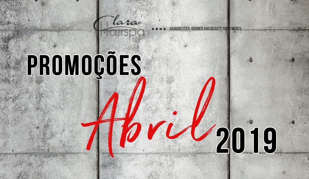 As nossas promoções (Abril – 2019)