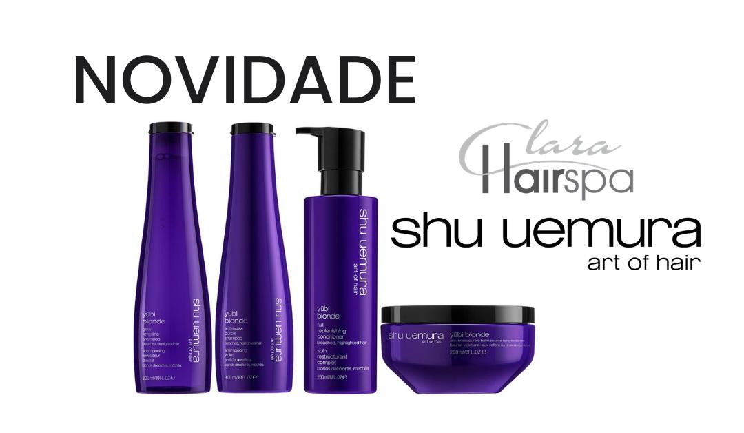 JUBI BLONDE: A nova aposta da Shu Uemura para cabelos louros