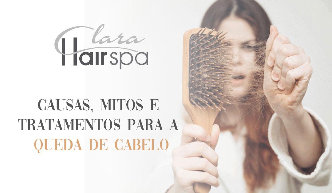Causas, mitos e tratamentos para a queda de cabelo